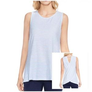 TWO BY VINCE CAMUTO CHARTER MINI STRIPE TANK